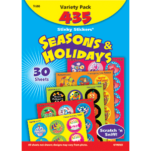 Seasons & Holidays - Stinky Stickers (435 stickers, 29 designs)-0