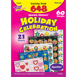Holiday Celebration - Sparkle Stickers (648 stickers)-0