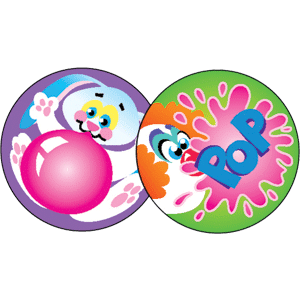Kids Choice - Stinky Stickers (480 stickers, 48 designs)-2991