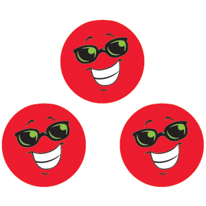 Smiles & Stars - Stinky Stickers (648 stickers, 56 designs)-3006