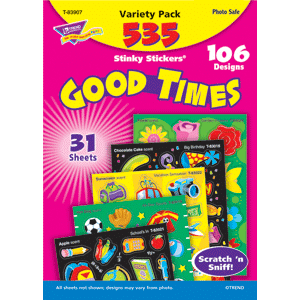 Good Times - Stinky Stickers (535 stickers, 106 designs)-0
