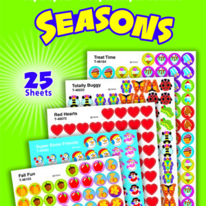 Seasons - Mini Stickers For Dot Books (2,500)-0