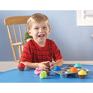 Shape Sorting Cupcakes-3314