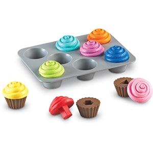 Shape Sorting Cupcakes-3316