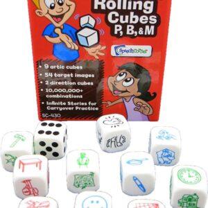 Articulation Rolling Cubes P/B/M-3993