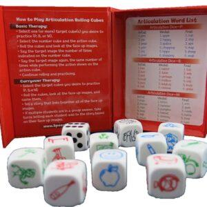 Articulation Rolling Cubes P/B/M-3994