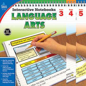 Interactive Notebooks Language Arts 3-5-0