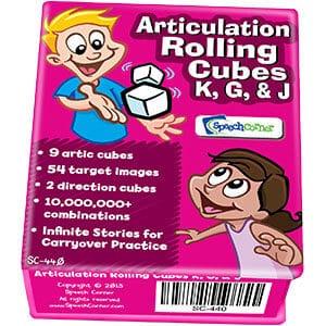 Articulation Rolling Cubes K/G/J-0