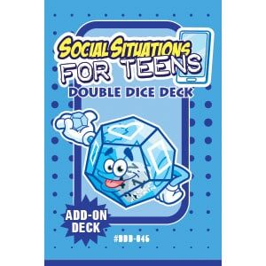 Social Situations For Teens Double Dice Add-On Deck-0