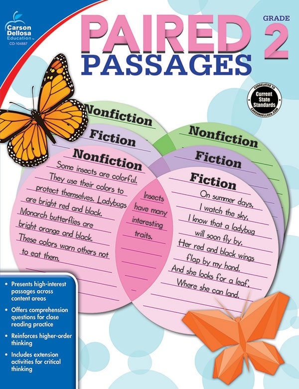 Paired Passages Grades 1-3-3670