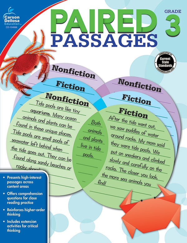 Paired Passages Grades 1-3-3669