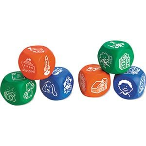 Foam Story Starter Cubes - Pictures-0