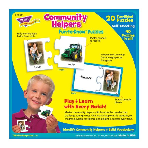Community Helpers - Fun To Know Puzzles-5847