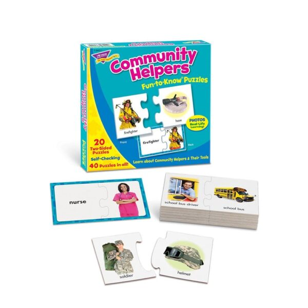 Community Helpers - Fun To Know Puzzles-5846