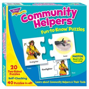 Community Helpers - Fun To Know Puzzles-0