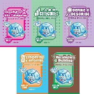 Double Dice Deck Bundle: Vocabulary (DDD-008, 010, 017, 029, 035)-0