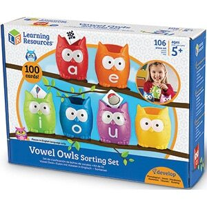 Vowel Owls Sorting Set-0