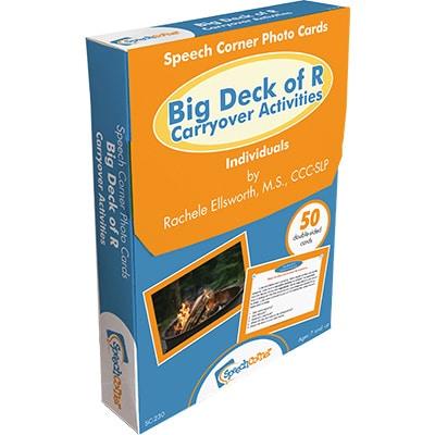 Speech Corner Photo Cards - Big Deck Of R Carryover Activities-0