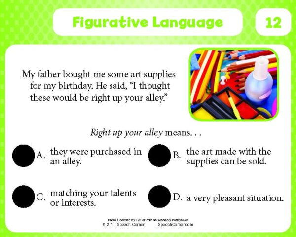 Spot On! Figurative Language-4108