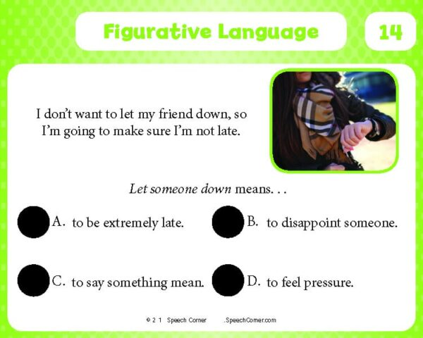 Spot On! Figurative Language-4107