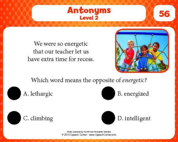 Spot On! Antonyms (Tier II)-4216