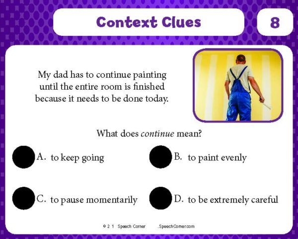Spot On! Context Clues-4223
