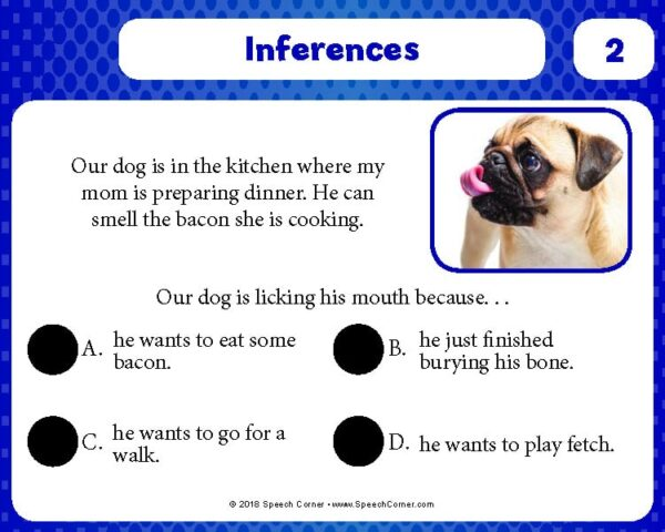 Spot On! Inferences-4125