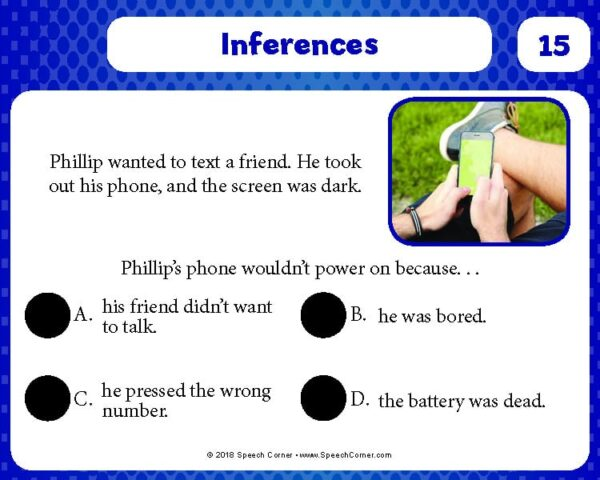 Spot On! Inferences-4127