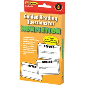 Guided Reading Question Cards - Nonfiction-0