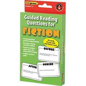Guided Reading Question Cards - Fiction-0