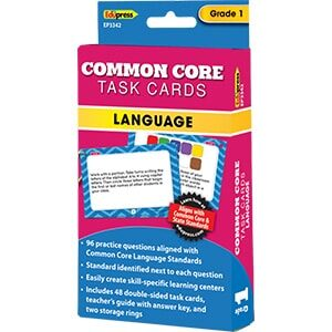 Common Core Language Task Cards: Grade 1-0