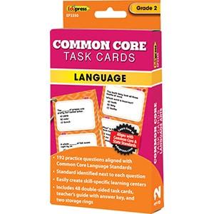 Common Core Language Task Cards: Grade 2-0