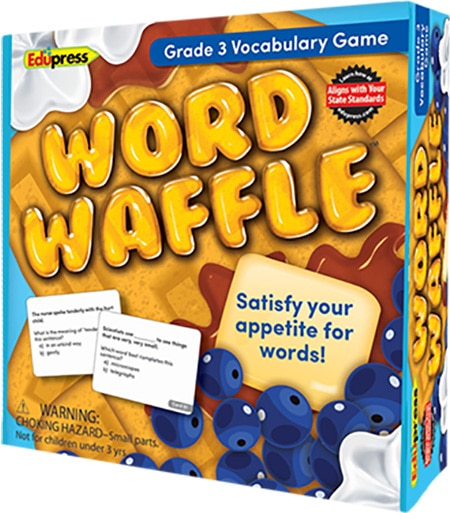 Word Waffle: Grade 3-4233