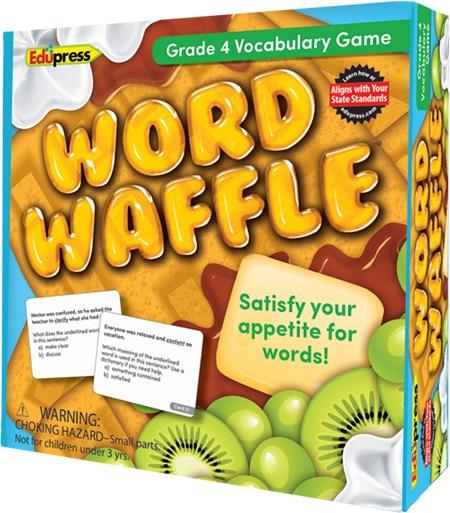 Word Waffle: Grade 4-4237
