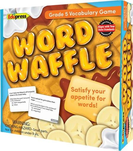Word Waffle: Grade 5-4241