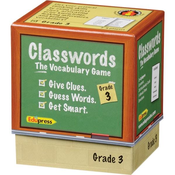 Classwords: The Vocabulary Game - Grade 3-4171