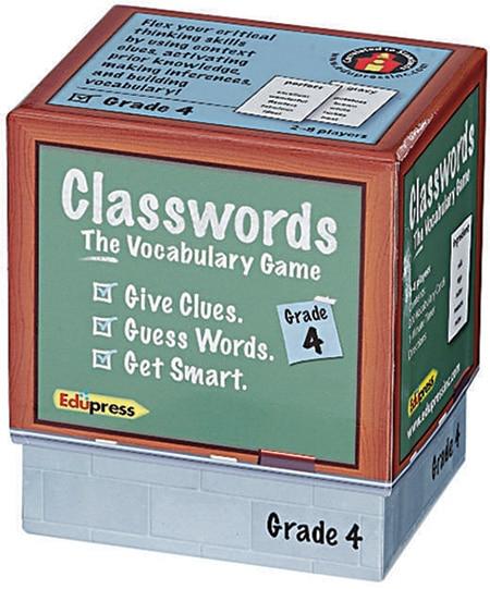 Classwords: The Vocabulary Game - Grade 4-4175