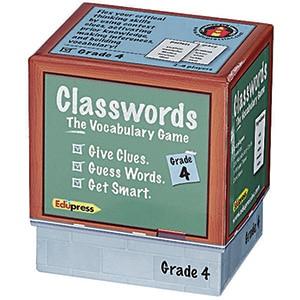 Classwords: The Vocabulary Game - Grade 4-0