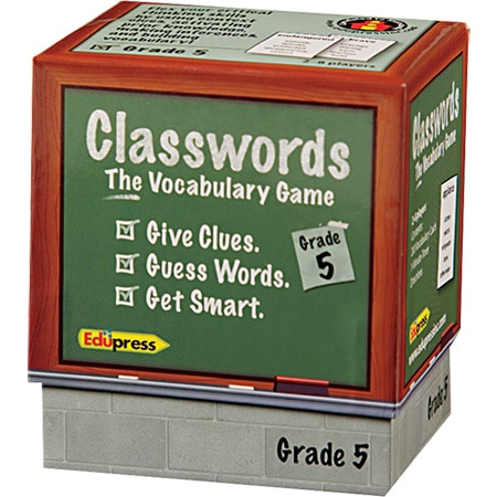 Classwords: The Vocabulary Game - Grade 5-4178