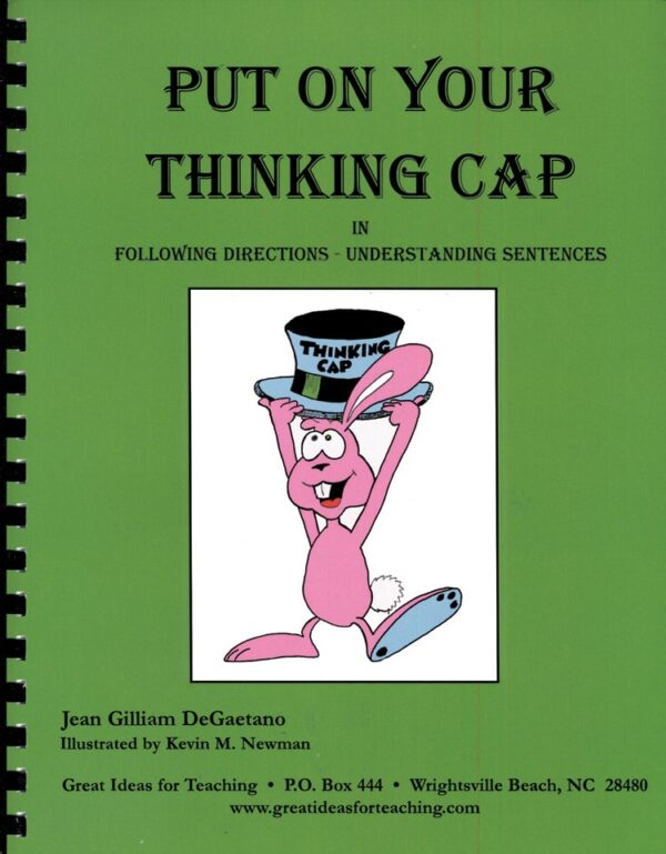 Put On Your Thinking Cap-4691