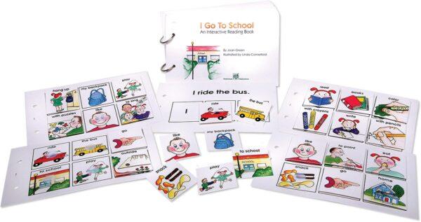 Interactive Reading Books: I Go To School-4400