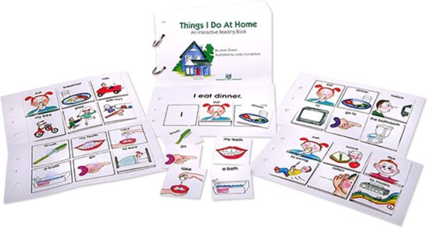 Interactive Reading Books: Things I Do At Home-4404