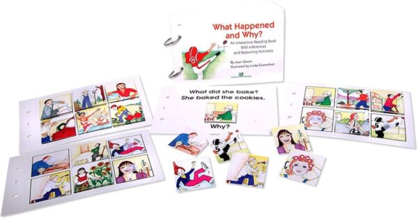 Interactive Reading Books: What Happened and Why?-4428