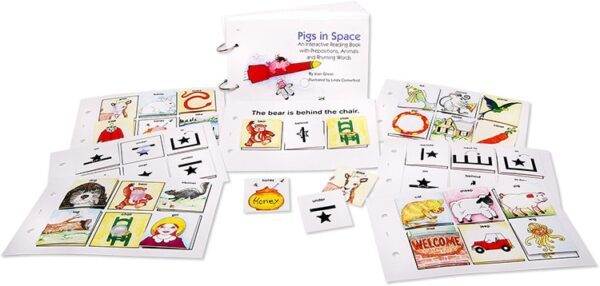 Interactive Reading Books: Pigs In Space-4434