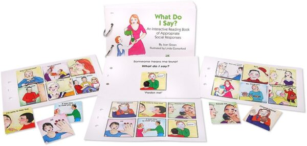 Interactive Reading Books: What Do I Say?-4444
