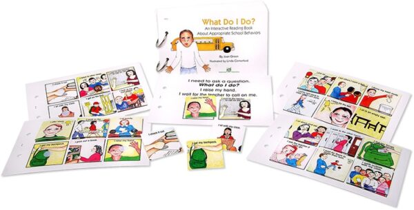 Interactive Reading Books: What Do I Do?-4448