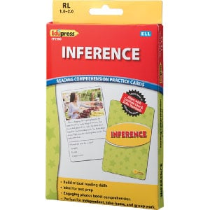 Comprehension Practice Cards: Inference (Reading Level 1.0-2.0)-0