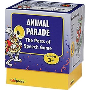 Animal Parade: Parts of Speech-0