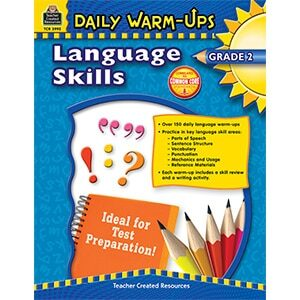 Daily Warm-Ups - Language Skills: Grade 2-0