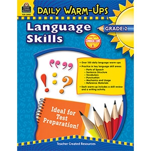 Daily Warm-Ups - Language Skills: Grade 2-0